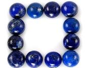 Lapis Lazuli Cabochon Round 8mm Sale by Best in Gems (1756)