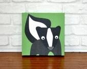 Susan Skunk - Canvas Wall Art