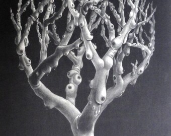 a tree of breasts