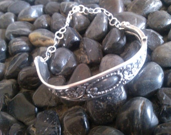 Sterling Silver Spoon Bracelet
