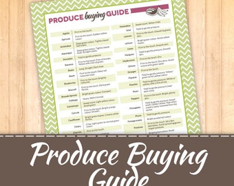 Produce Buying Guide