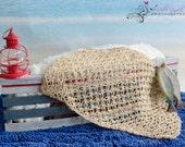Crochet Fishing Net Wrap Blanket Photography Prop