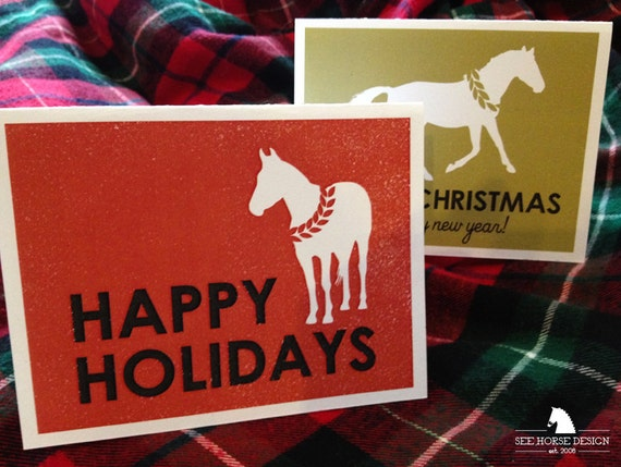Equestrian Christmas Cards - set of 10