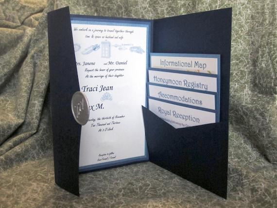 Wax Seals For Wedding Invitations: Sci Fi Wedding Invitations With Wax Seal