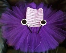 Monsters Inc BOO tutu dress, newborn-4 yo