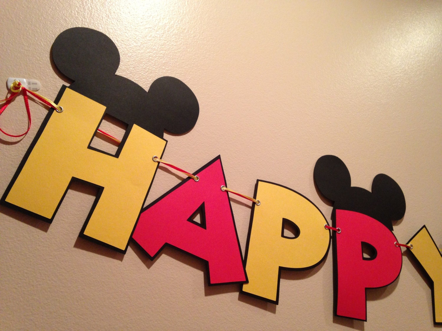 mickey mouse banner 1pc mickey party happy birthday 8'
