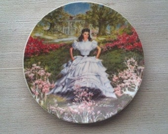Gone with the Wind collectors plates from the late 70's early 80's