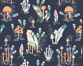 Forest Trail Mountian -1 yard - Indian Summer by Sarah Watson for Art Gallery Fabrics