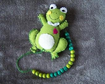 Rechenkette - count with frog