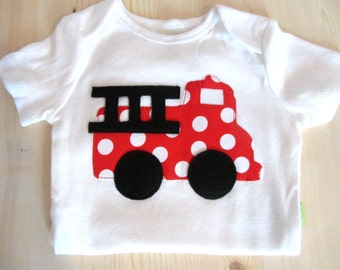 Baby Girl Clothes Baby Girl Fire Truck Outfit Pink Fire
