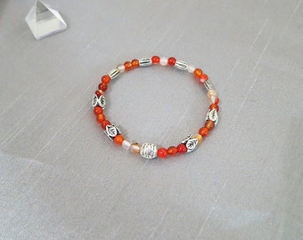 Sale, Carnelian Bracelet - Children Jewelry Children Bracelet