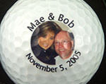 Imprinted Golf Balls  2 to 6 balls