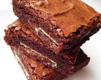 Brownies - Chocolate Mint Brownies - Blondies - Mint Chocolate - Gourmet Edible Sweets - Bakery