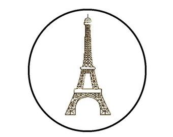 Eiffel Tower Counted Cross Stitch Pattern, PDF Paris Architecture CrossStitch Chart