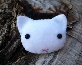 Kawaii Kitty hair clips