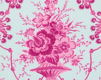 LUCKY Girl JENNIFER PAGANELLI 1 Yard Nicki in Pink Free Spirit Fabric