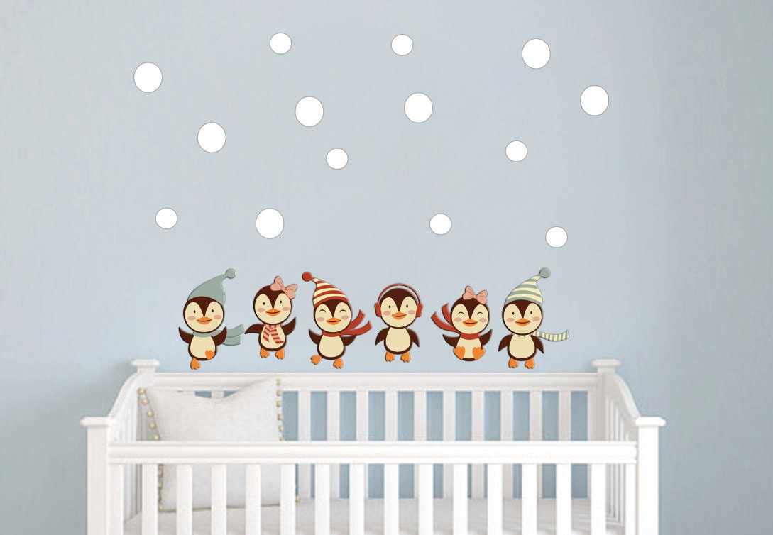 rocket wall decal boys name outer space kids room custom nursery penguins wall decals nursery baby girl boy wall stickers