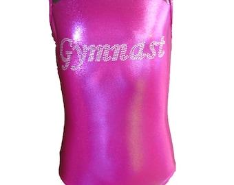 Berry Crush Gymnastics leotards for girls