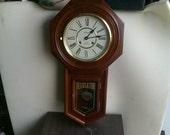 Waltham Regulator School House Clock 31 Day Wind