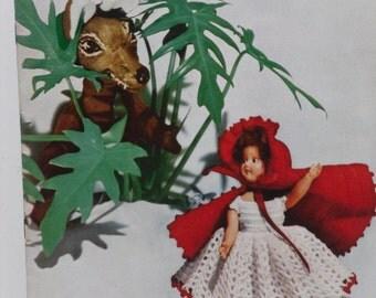 Dolls and Dolls Crochet Dresses Star Book 84 Vintage 1951
