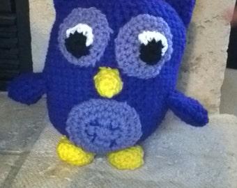 owl plushie
