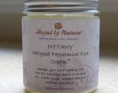 Dittany Whipped Peppermint Foot Cream 4oz - 100% Natural
