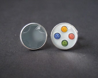 Xbox Controller Cuff Links - Vintage Style Mens Cufflinks - Gift for Dad , Groom , Groomsmen , with a gift box