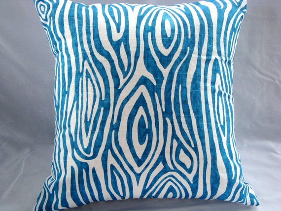 SALE Blue Pillows. Tree Pillow. Accent Pillow. Pillow Covers. Pillows. 20x20 Pillows