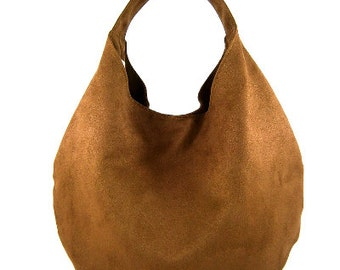 BIG BAG tote / hobo / in shoulder / hobo dark brown