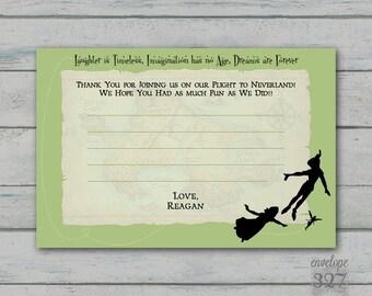 Peter Pan Thank You Card