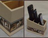 Remote Control Holder Handmade