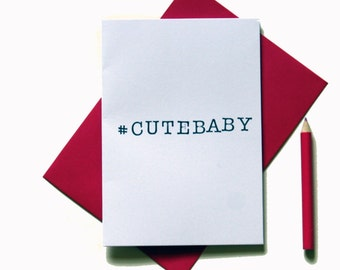 Cute baby new baby greeting card baby boy baby girl congratulations
