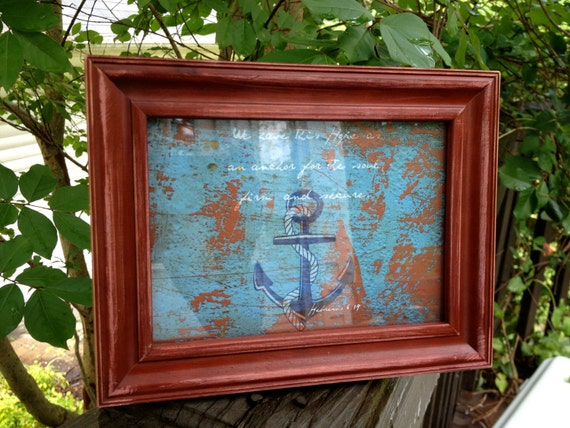Hebrews Anchor 5x7 print