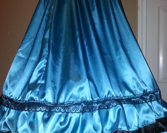 Ruffle Civil War Saloon Reenactment Girls Ball Gown Sizes, Styles and Colors available