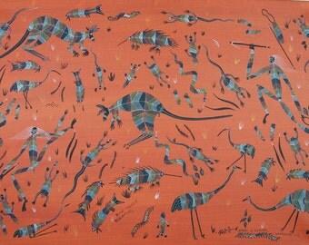 Bush Tucker Dreamer - Original Aboriginal painting