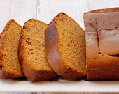 Gluten Free Paleo Pumpkin Spice Bread Loaf, Almond Flour, Raw Honey,  Made to Order - CoconutMocha