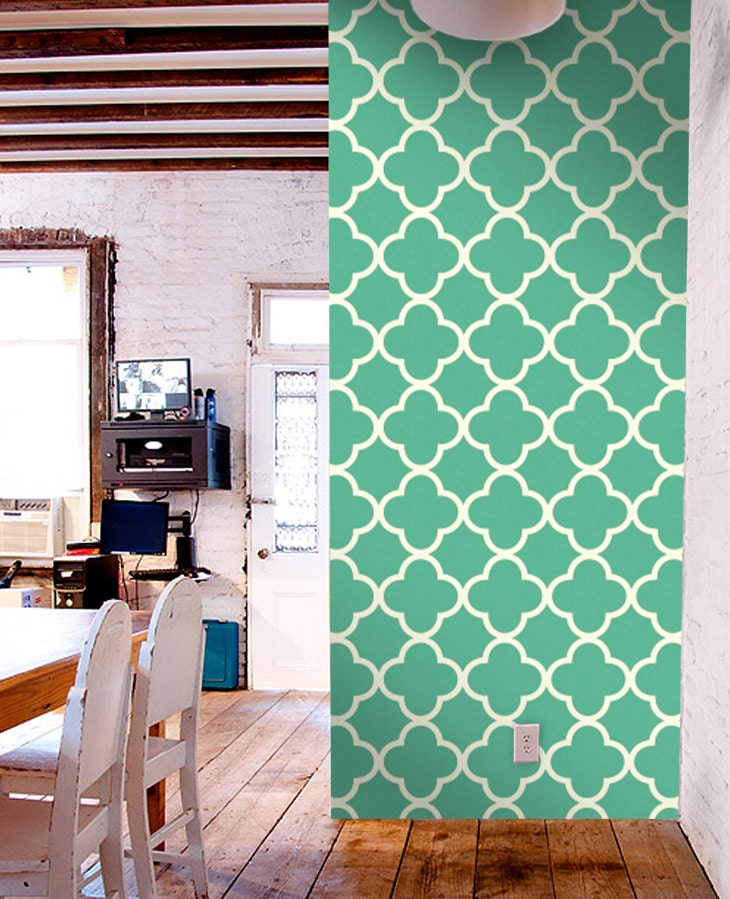 Colourful removable self adhesive modern vinyl wallpaper wall for Temporary vinyl wallpaper