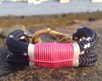Sailwinds Nautical Rope Bracelet - Coastal Collection - Nautical Inspired Authentic Rope Bracelet Hand-crafted in Maine