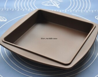 Big Square Pan Flexible Silicone Mold Cake Mold Chocolate Mold Cookie Mold Icing Mold Polymer Clay Mold Resin Mold Soap Mold