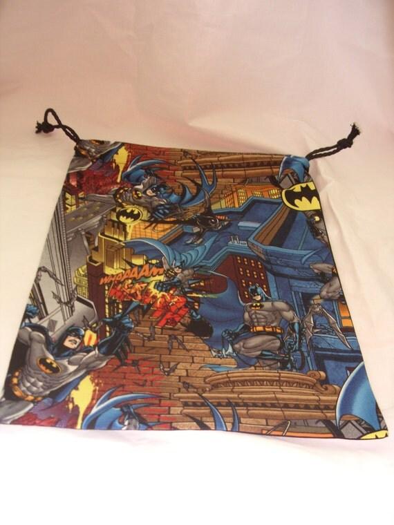 Batman design gym bag