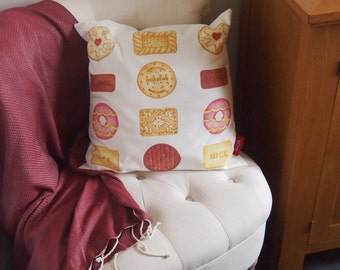 Artbyjak Biscuit Cushion (Cover only)
