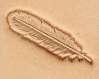 Feather Leather Stamp Tool