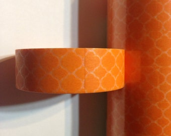 Orange Lattice Washi Tape Orange Washi Tape
