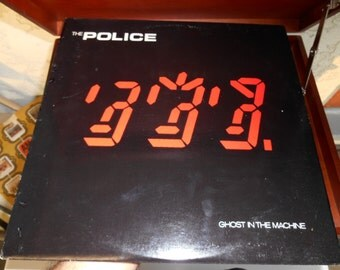 The Police- Ghost In The Machine Vinyl Record