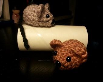 Little Cute Mouse Amigurumi