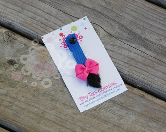 Eeyore's Tail hair clip