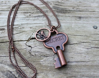 Key Secret Necklace
