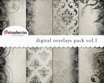 Digital Overlays Pack Vol.1 12x12in