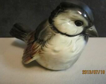 1950,s Vintage Goebel sparrow bird figurine made in west germany