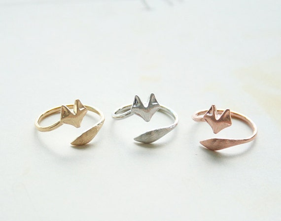 Simple and beautiful fox rings | Lindsay Eryn